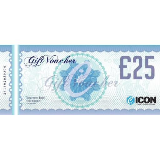 £25 ICON GIFT VOUCHER