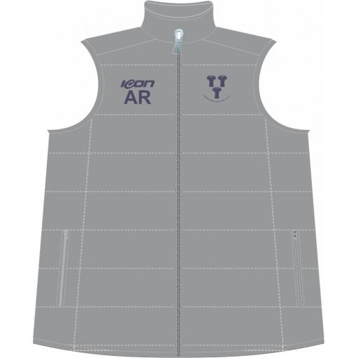 Chester Boughton Hall CC Puffer Vest