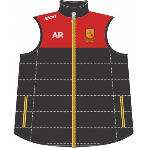 Bradford & Bingley CC Puffer Vest