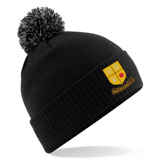 Bradford & Bingley CC Club Beanie Hat
