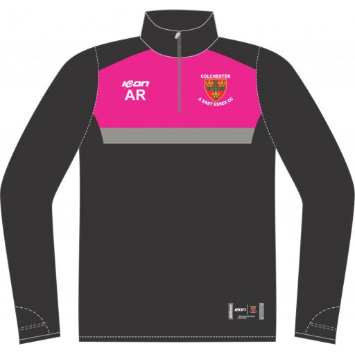 Colchester & East Essex CC Sublimated 1/4 Zip Midlayer