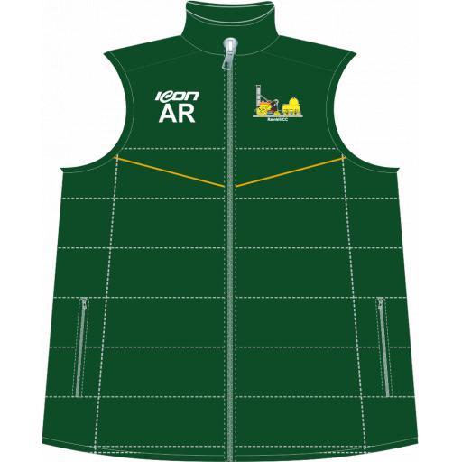 Rainhill CC Puffer Vest