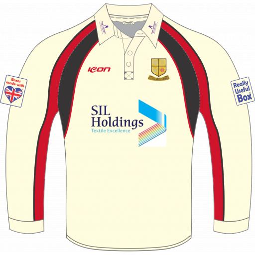 Bradford & Bingley CC Playing Shirt - Long Sleeve