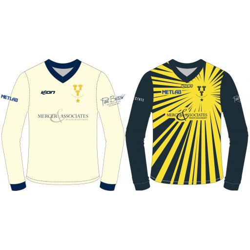 Chester Boughton Hall CC Reversible Cricket Sweater - Long Sleeve