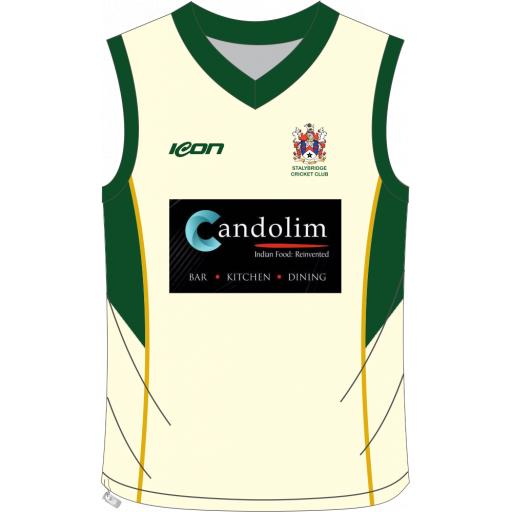 Stalybridge CC Senior Sweater - Sleeveless