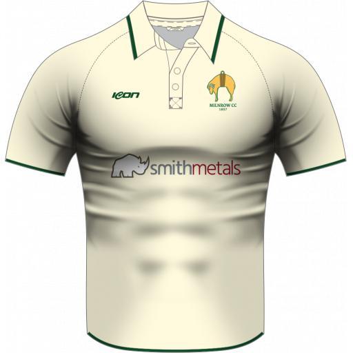 Milnrow CC Playing Shirt - Short Sleeve
