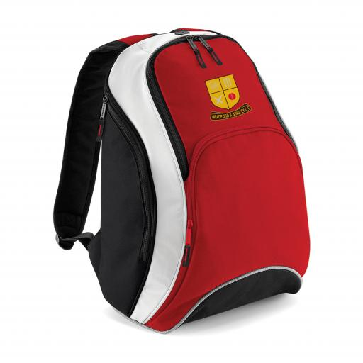 Bradford & Bingley CC Club Backpack