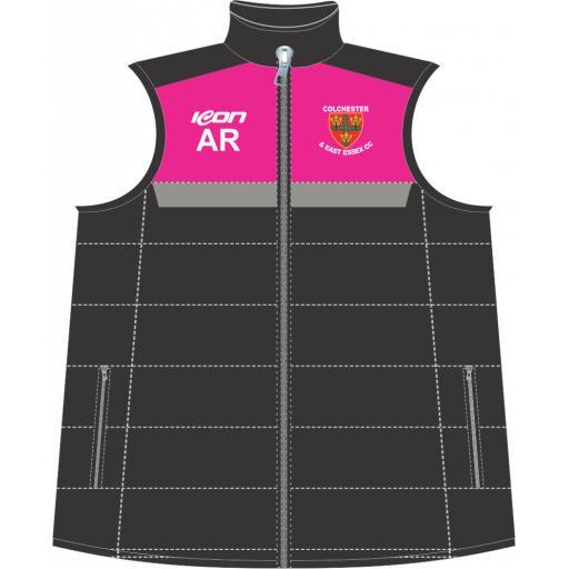 Colchester & East Essex CC Puffer Vest