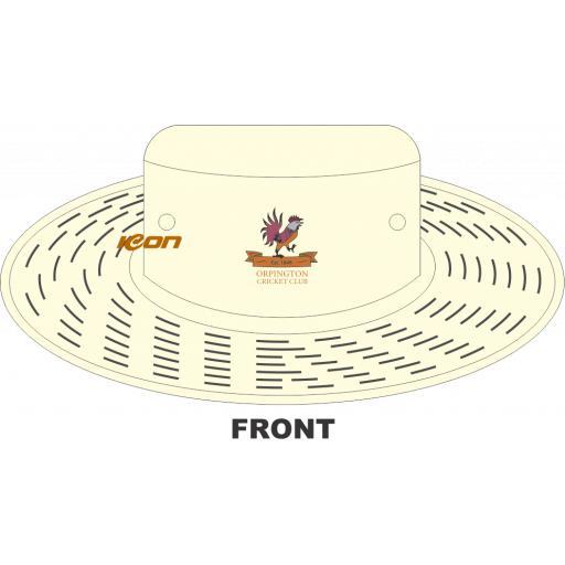 Orpington CC Sun Hat