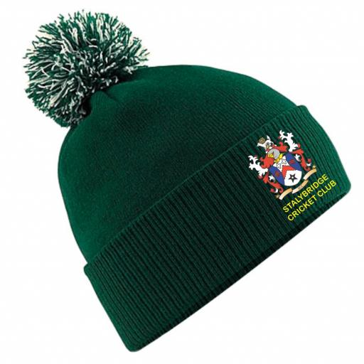 Stalybridge CC Club Beanie Hat