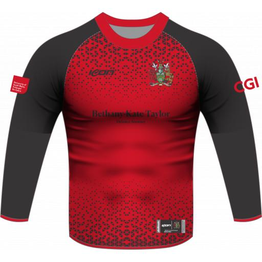 University of South Wales Cricket T20 Playing Shirt - Long Sleeve