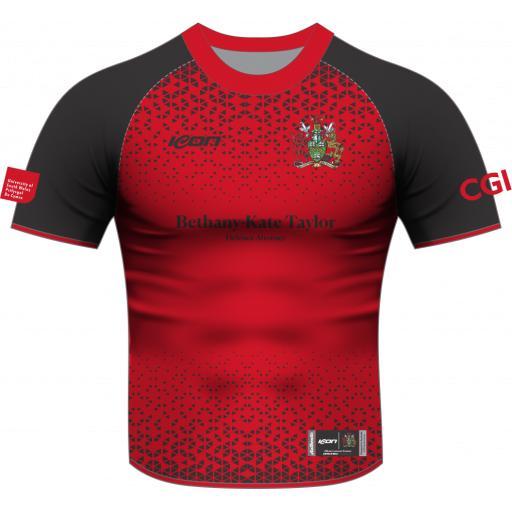 University of South Wales Cricket T20 Playing Shirt - Short Sleeve