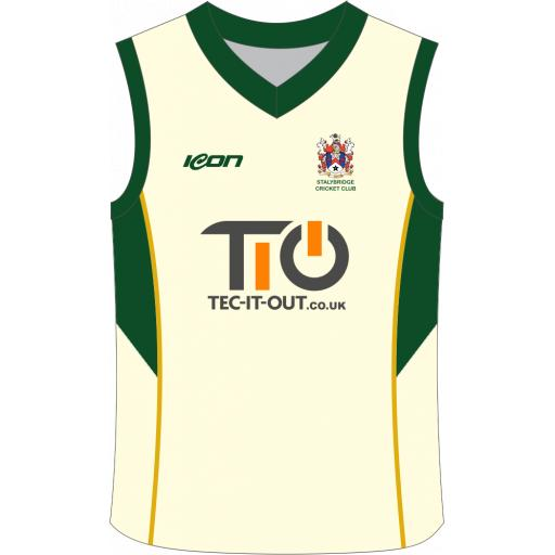 Stalybridge CC Junior Sweater - Sleeveless