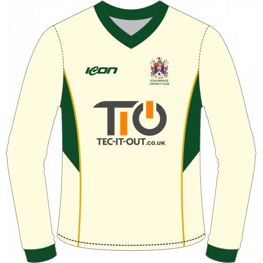 Stalybridge CC Junior Sweater - Long Sleeve