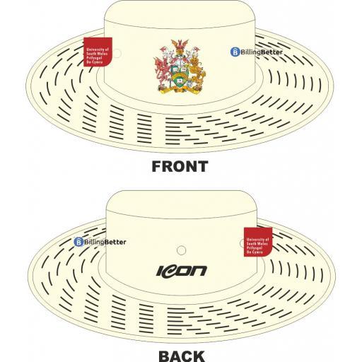 University of South Wales Cricket Sun Hat