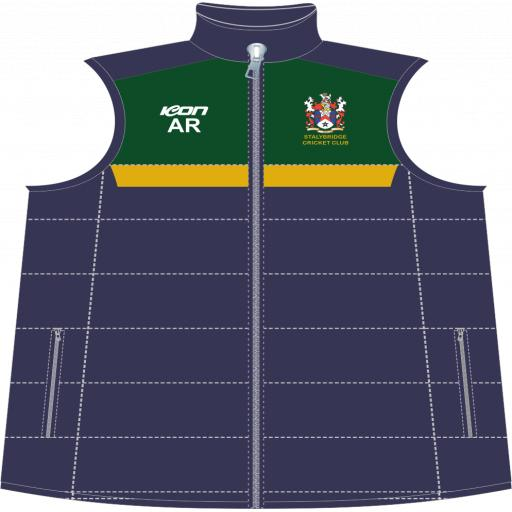 Stalybridge CC Puffer Vest