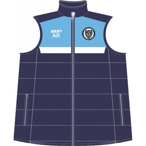 Old Glossop CC Puffer Vest
