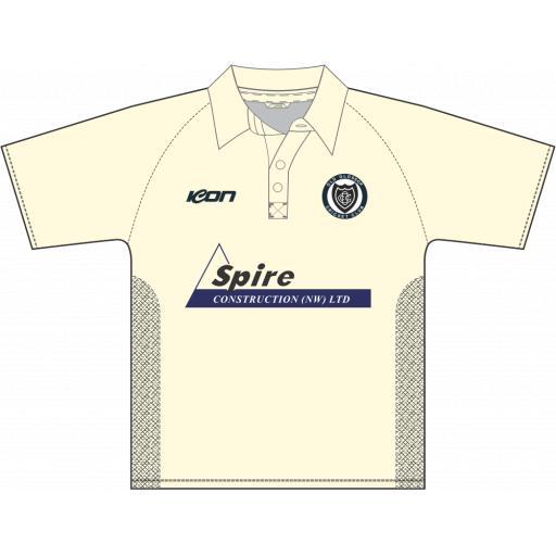 Old Glossop CC Junior Club Shirt - Short Sleeve