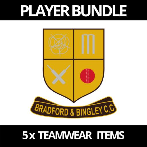 Bradford & Bingley CC Players Bundle