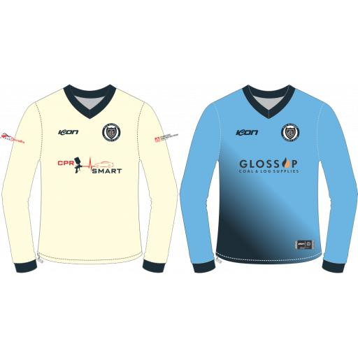 Old Glossop CC Reversible Sweater - Long Sleeve