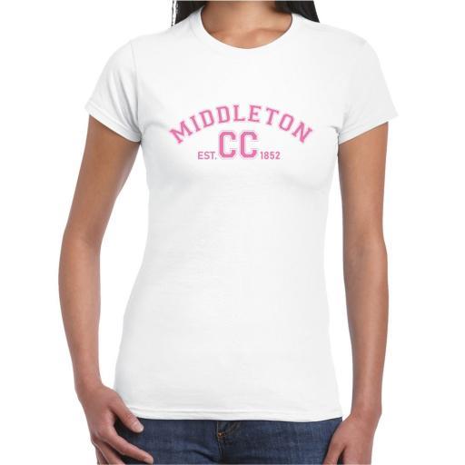 Middleton CC Ladies Leisure T-Shirt