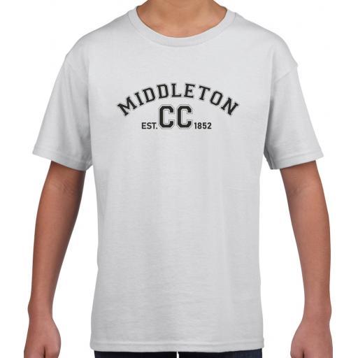 Middleton CC Kids Leisure T-Shirt