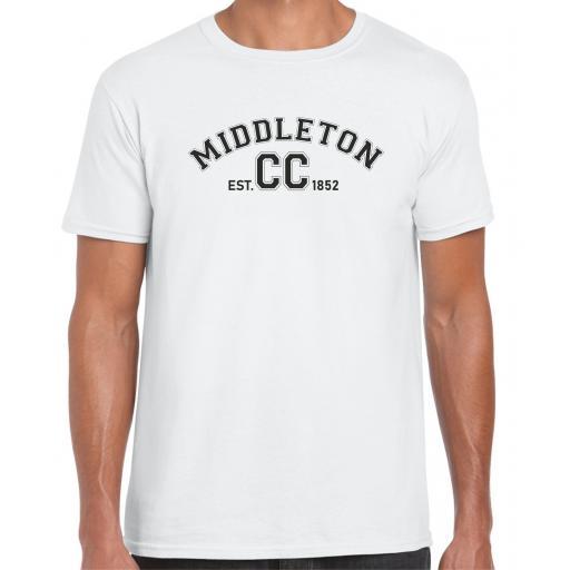 Middleton CC Mens Leisure T-Shirt