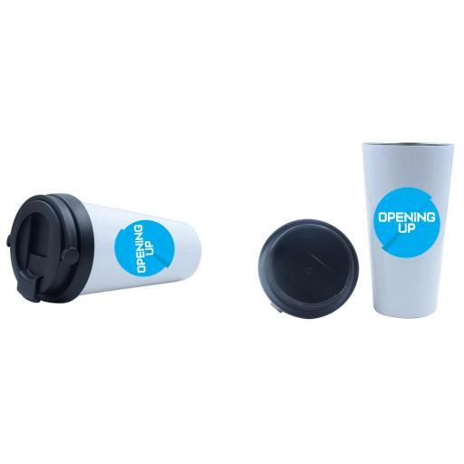 Opening Up - Reusable Coffee Mug