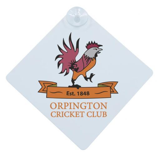 Orpington CC - Car Window Hanger