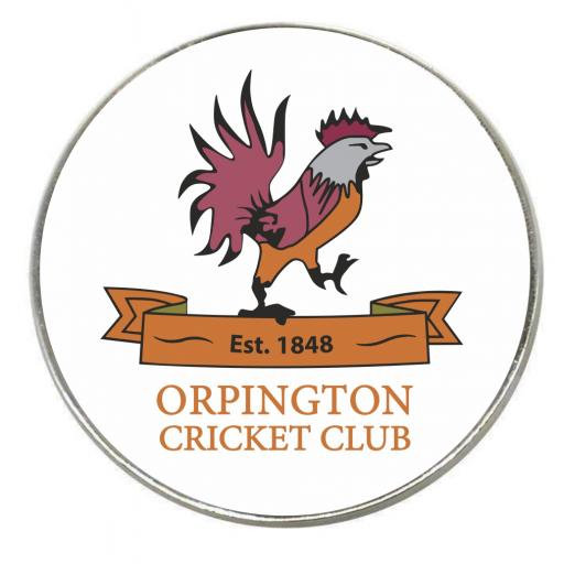 Orpington CC - Round Fridge Magnet