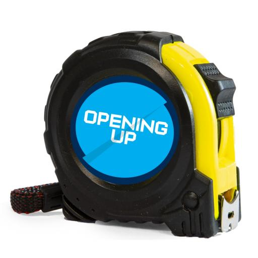 Opening Up - Tape Measure