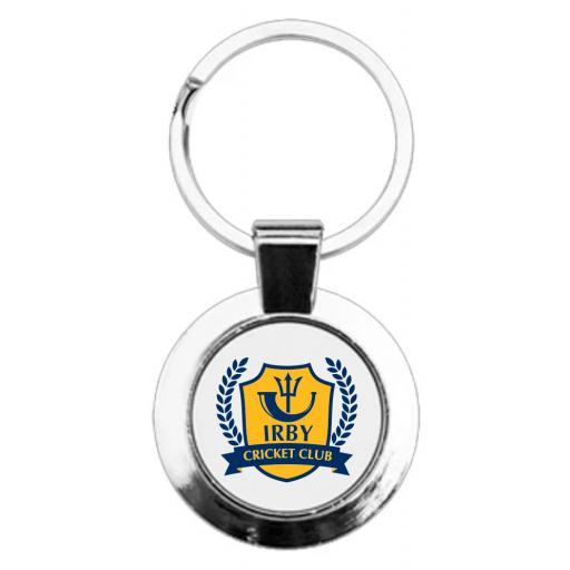 Irby CC - Round Keyring
