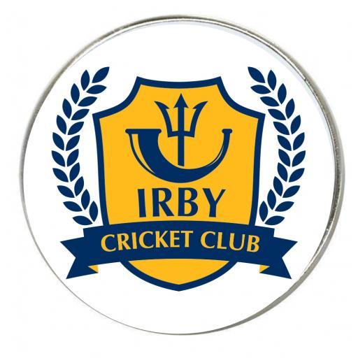 Irby CC - Round Fridge Magnet