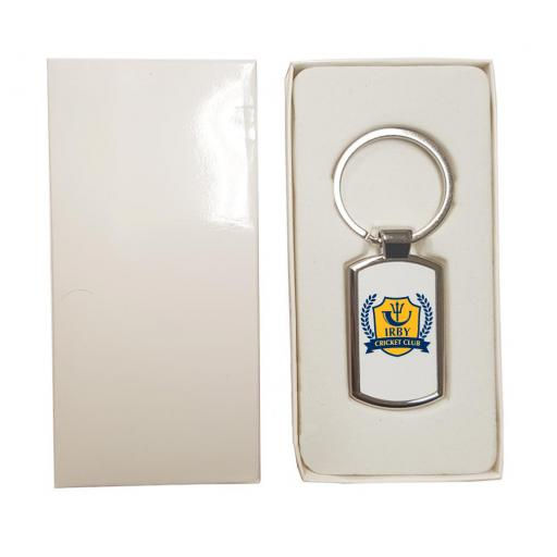 Irby CC - Rectangle Keyring
