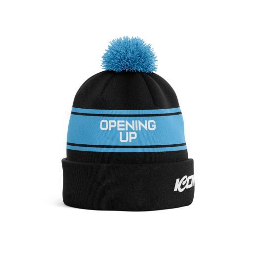 Opening Up Bespoke Pom Pom Hat