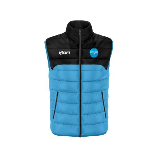 Opening Up Puffer Vest
